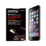 【iPhone6s Plus/6 plus フィルム】強化ガラスフィルム フレキシーグラス スーパースリム