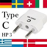 <売れ筋>【海外旅行用品】海外用電源プラグ HP3