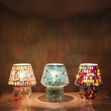 Glass Lamp Table Lamp Mushroom