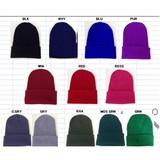 カラーシンプルニット帽・ニットキャップ