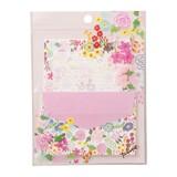 【レターセット】plune ミニレター 小花ガーデン