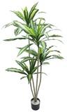 【観葉植物 造花】ドラセナツリー/造花 グリーン/植物/室内装飾
