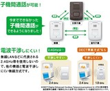 DXアンテナワイヤレスインターホン増設用室内子機DWH10A1