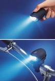 LEDダイナモフラッシュライト(手回し充電ライト)FJK-D001