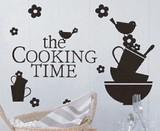 Mini Wall Stickers/ミニウォールステッカー/Cooking Pattern