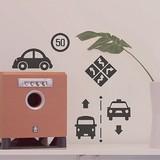 Mini Wall Stickers/ミニウォールステッカー/Travel Icon