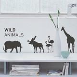 Mini Wall Stickers/ミニウォールステッカー/Safari2