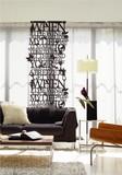 Fabric Art/ファブリックアート/Typo