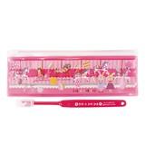 【Rub a dub dub】 R.ポーチ付ハブラシセット ピンク