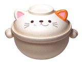 ねこの土鍋 9号(3.2L)【ネコ】