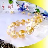 【30%OFF】【天然石ブレスレット】手彫〈金龍〉天然水晶(16mm)ブレス【天然石 青龍】