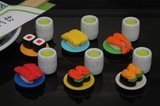 IWAKO Conveyor Belt Sushi Eraser