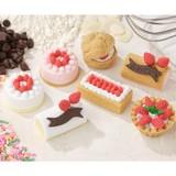 IWAKO Cake Eraser 7 Types