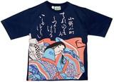 【期間限定セール 大特価】和柄 レディースTシャツ 「小野小町」