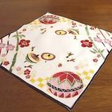 【迎春】お正月刺繍レース ドイリー