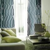 遮光カーテン【ウネオリ】柵をモチーフにしたストライプ柄。シンプルでスタイリッシュな遮光カーテン