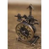 【ミニチュア】アンティークシャープナー[時計]鉛筆削り