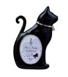 黒猫フォトフレーム(お座り)【 ディアキャッツシリーズ 】