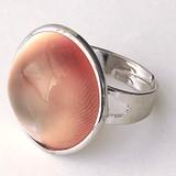 【30%OFF】【天然石 リング】☆デザイン天然貝指輪[Bタイプ]【天然石 天然貝】