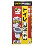 【トイレ非常用袋 R-40】非常用トイレ用袋 断水時のトイレ非常用袋10回分セット 緊急時 災害