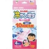 冷やし増す 冷却シート 4枚入 子供用 ももの香りK−2118