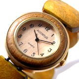 ウッドジャバラ時計