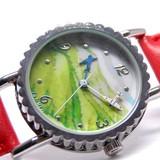 かわいい針を使った時計