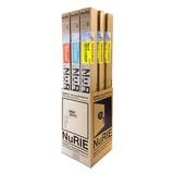 【ぬり絵】NuRIE(ヌーリエ)什器付き3種セット №1 №2 №3 ×3