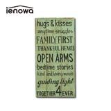 【特価商品】お部屋の雰囲気がアップするウォールデコレーション <ienowa/hugs>