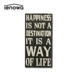 【直送可】お部屋の雰囲気がアップするウォールデコレーション <ienowa/HAPPINESS IS>