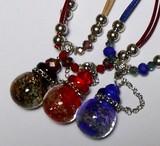 Popular Aroma Pendant Necklace Glass Handmade