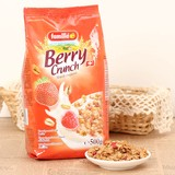 ベリー クランチ ☆数種類の穀物・ナッツにストロベリー・ラズベリーがバランスよくミックス☆