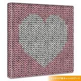 Scandinavia Heart Fabric Panel