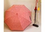 2015 S&S新作 【ジュビア】婦人用雨傘  ジオメトリックドットプリント