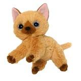 【いっしょがいいね】ビーンズぬいぐるみ(2Sサイズ) 茶猫