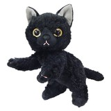 【いっしょがいいね】猫 ビーンズ(2Sサイズ) 黒猫