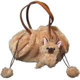 【いっしょがいいね】猫 巾着風バッグ 茶猫