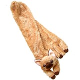 【いっしょがいいね】猫 マフラー 茶猫