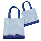 Issho ga iine Cat Tote Bag Congested