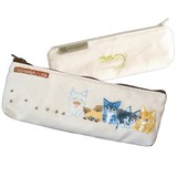 Issho ga iine Cat Pencil Case Congested
