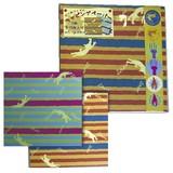 【スクラッチ】ラッピング折り紙(ボーダー)