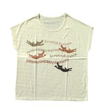【スクラッチ】Tシャツ ジャンプ(アイボリー)