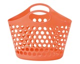 Picnicle Oval Basket Peach Plastic Outdoor Good