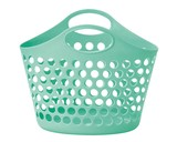 Picnicle Oval Basket Mint Plastic Outdoor Good
