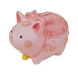 【 さくらシリーズ 】 ネコのミニ貯金箱