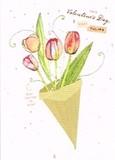 MADISON PARK GREETINGS バレンタイングリーティングカード <フラワーブーケ>