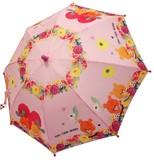 ☆ルルロロ☆転写プリント子供傘☆45cm☆ピンク☆