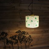 モザイクガラスランプ スター/シリンダー
