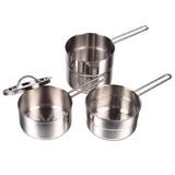 【色んな料理が!】 デイズキッチン ステンレス製 スタッキング鍋 14cm