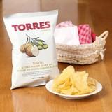 パーティーに★【TORRES/トーレス】100%エクストラバージンオリーブオイルポテトチップス